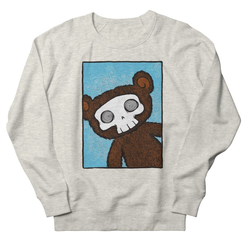 Hello There SkullyBear Women's Sweatshirt by SkullyFlower's Sweetly Creepy Tees