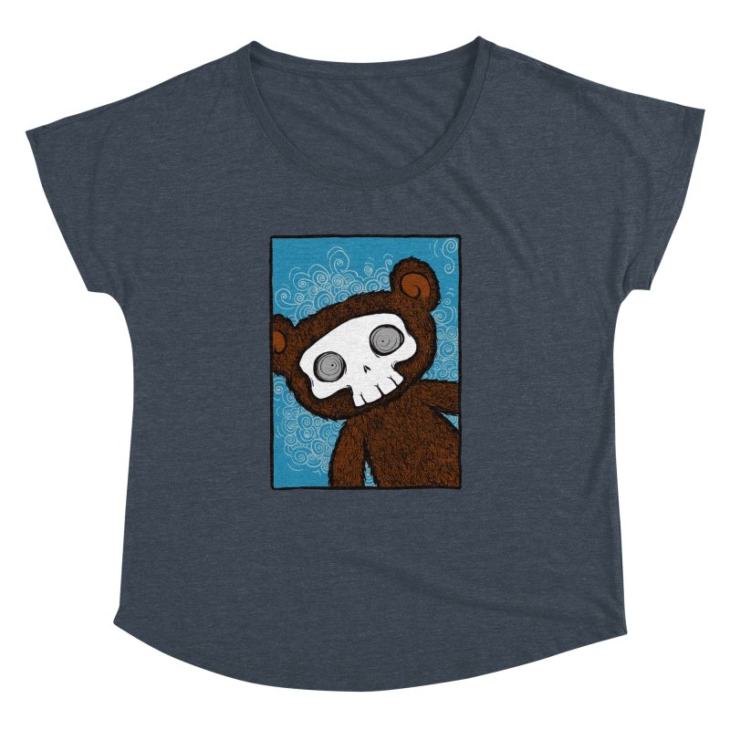 Hello There SkullyBear Women's Dolman by SkullyFlower's Sweetly Creepy Tees