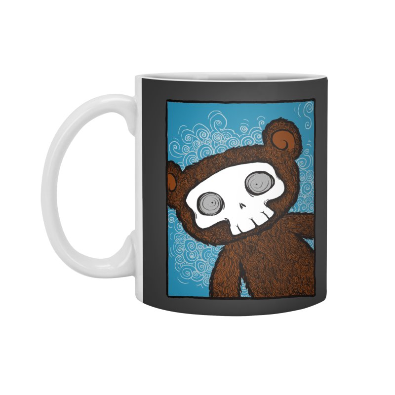 Hello There SkullyBear Accessories Mug by SkullyFlower's Sweetly Creepy Tees