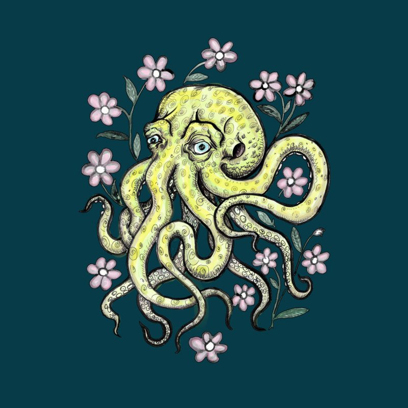OctoFlowerPuss None  by SkullyFlower's Sweetly Creepy Tees