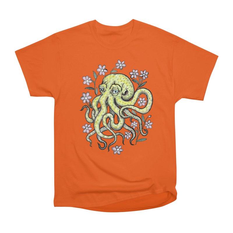OctoFlowerPuss Men's Classic T-Shirt by SkullyFlower's Sweetly Creepy Tees