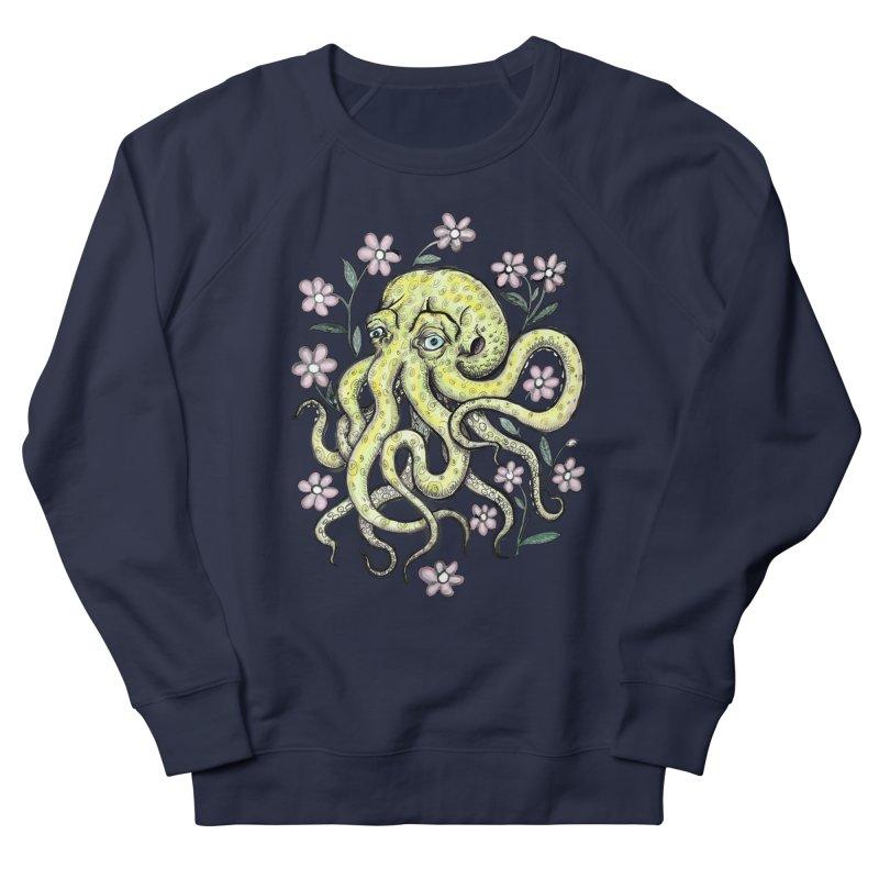 OctoFlowerPuss Women's Sweatshirt by SkullyFlower's Sweetly Creepy Tees
