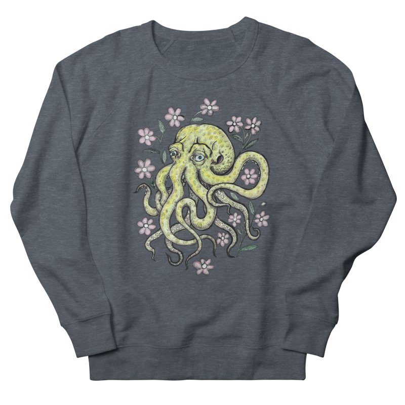 OctoFlowerPuss Men's Sweatshirt by SkullyFlower's Sweetly Creepy Tees