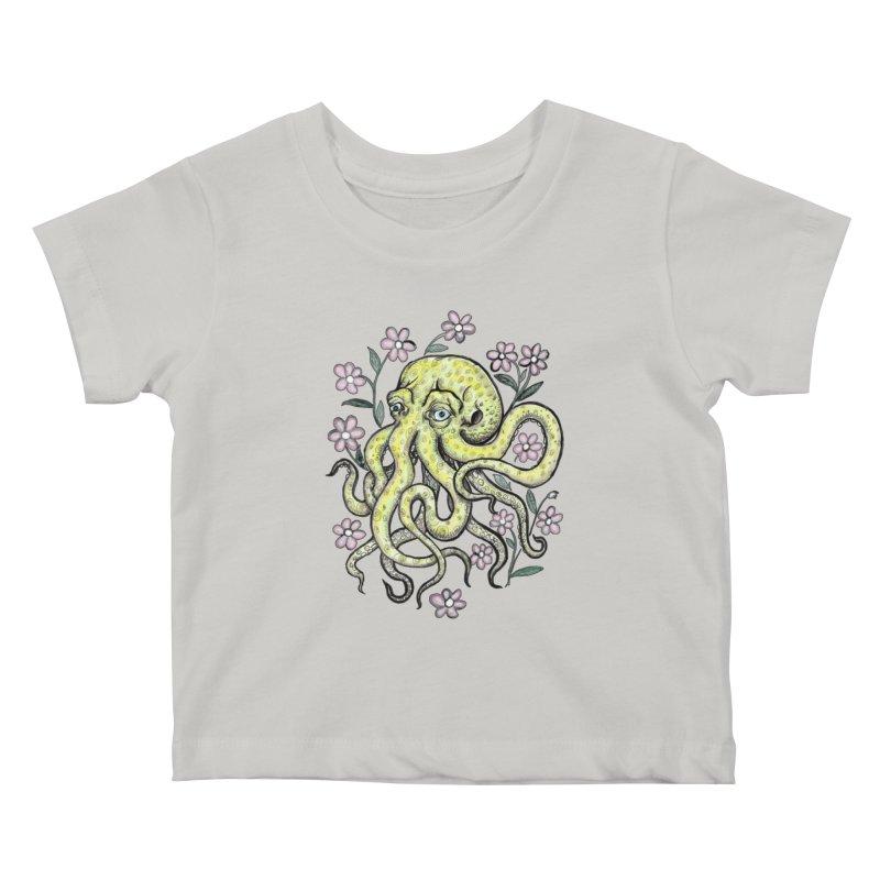 OctoFlowerPuss   by SkullyFlower's Sweetly Creepy Tees