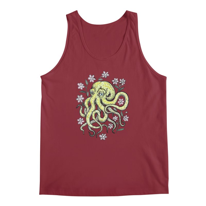 OctoFlowerPuss Men's Regular Tank by SkullyFlower's Sweetly Creepy Tees