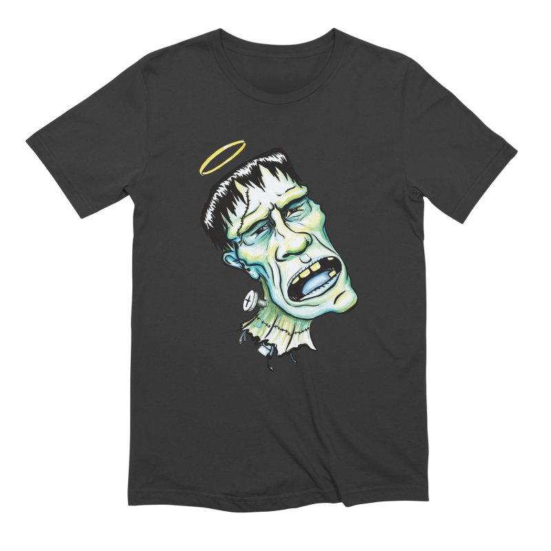 Saint Frank Men's T-Shirt by SkullyFlower's Sweetly Creepy Tees