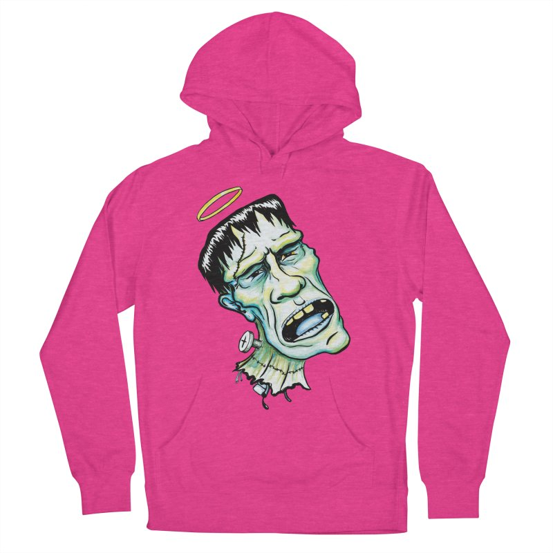 Saint Frank Men's French Terry Pullover Hoody by SkullyFlower's Sweetly Creepy Tees