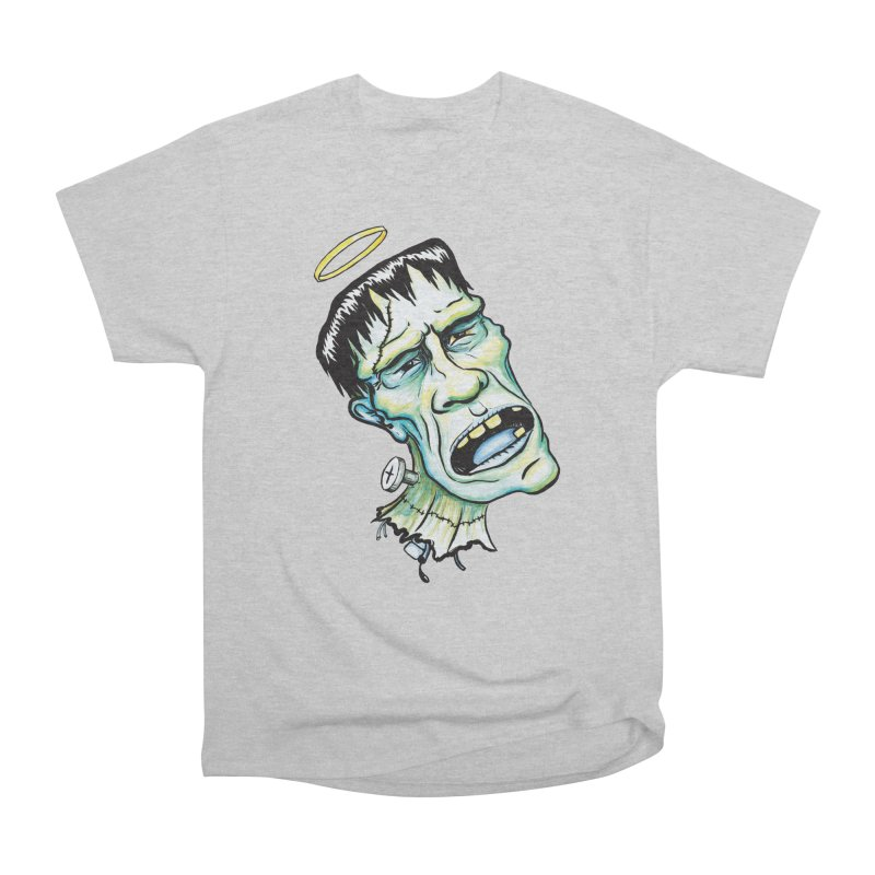 Saint Frank Women's Heavyweight Unisex T-Shirt by SkullyFlower's Sweetly Creepy Tees
