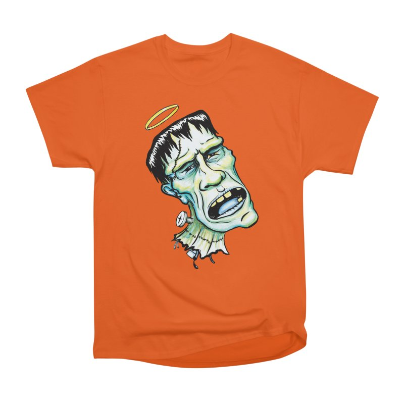 Saint Frank Men's Classic T-Shirt by SkullyFlower's Sweetly Creepy Tees