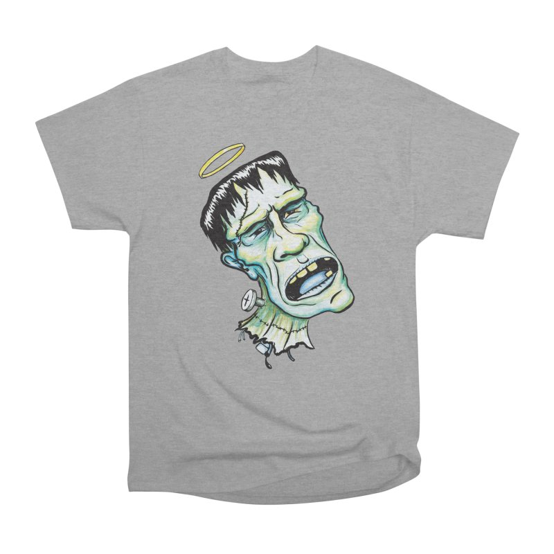 Saint Frank Men's Classic T-Shirt by SkullyFlower's Sweetly Creepy Tees