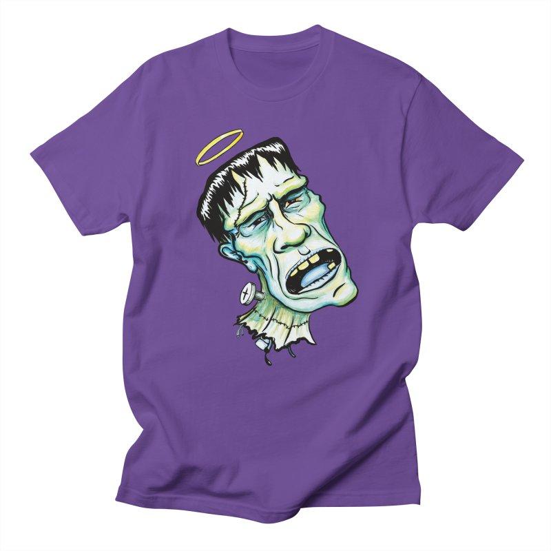 Saint Frank Women's Unisex T-Shirt by SkullyFlower's Sweetly Creepy Tees