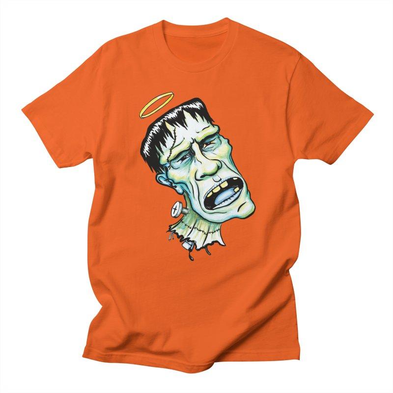 Saint Frank Men's T-Shirt by SkullyFlower's Sweetly Creepy Tees