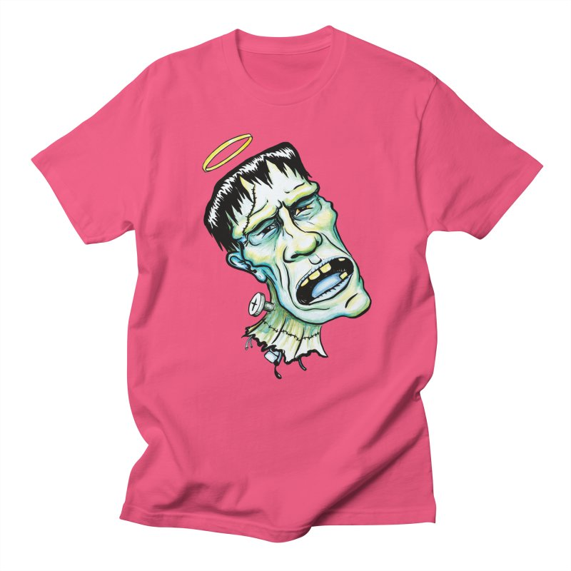 Saint Frank Women's Regular Unisex T-Shirt by SkullyFlower's Sweetly Creepy Tees