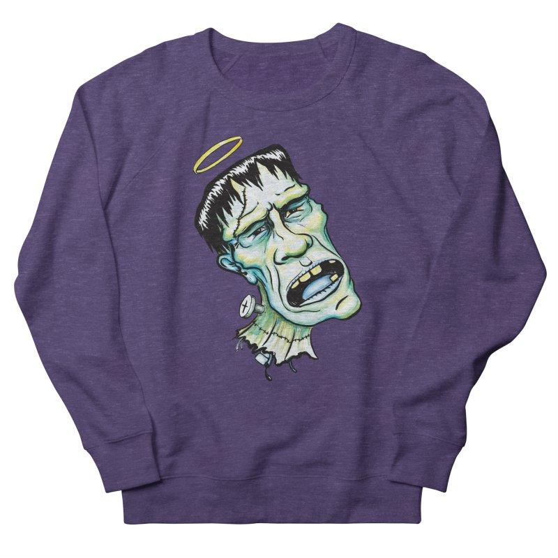 Saint Frank Women's French Terry Sweatshirt by SkullyFlower's Sweetly Creepy Tees