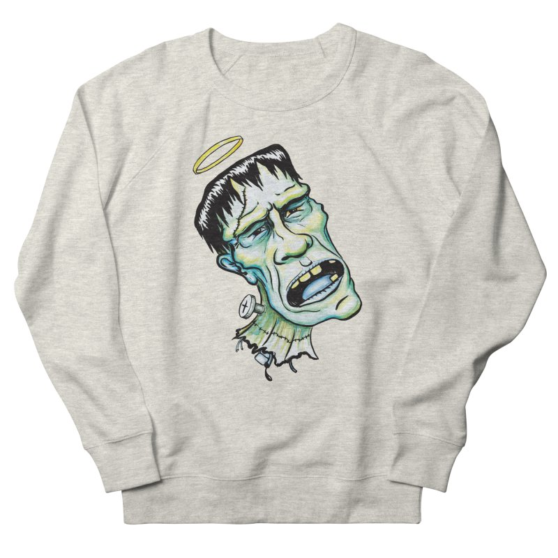 Saint Frank Women's Sweatshirt by SkullyFlower's Sweetly Creepy Tees