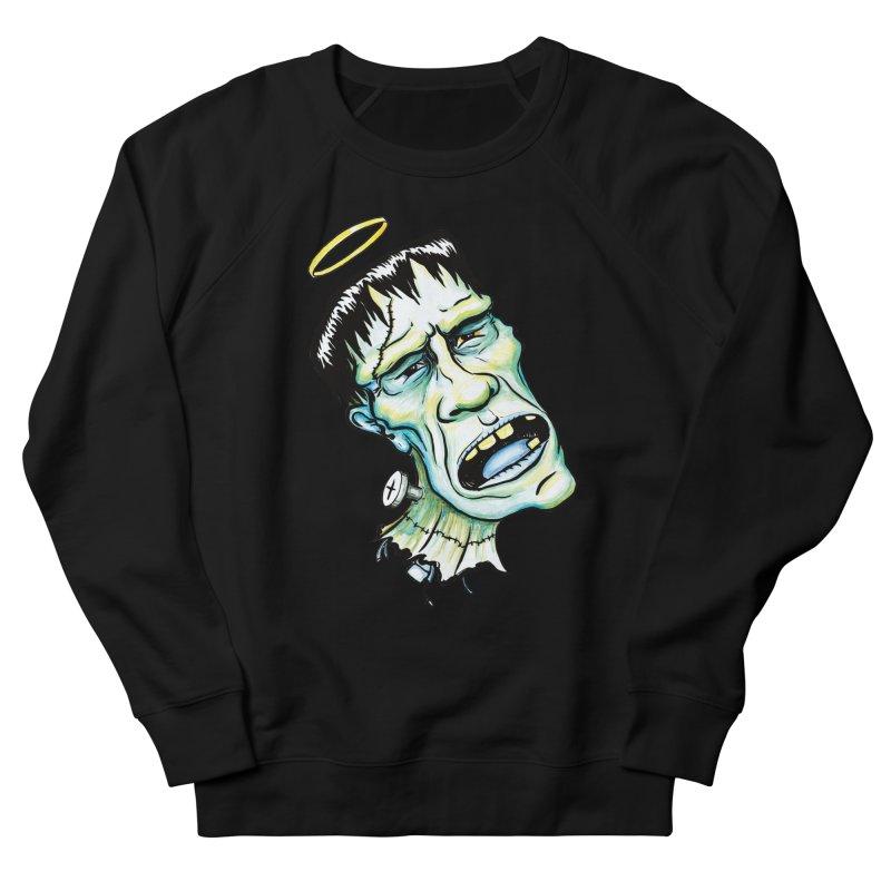 Saint Frank Men's Sweatshirt by SkullyFlower's Sweetly Creepy Tees