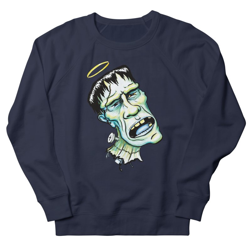 Saint Frank Men's Sweatshirt by SkullyFlower's Sweetly Creepy Tees