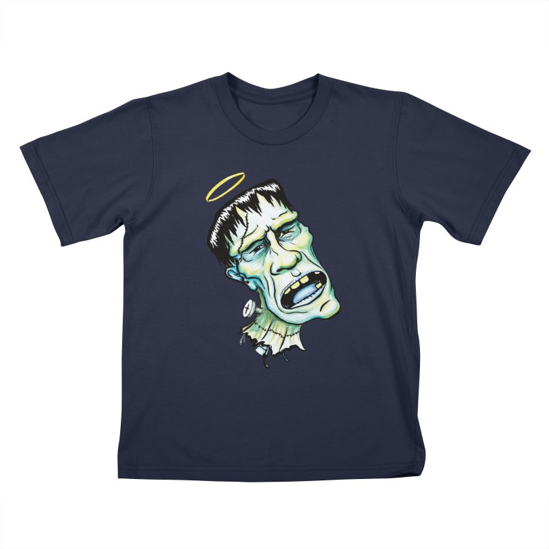 Saint Frank Kids T-shirt by SkullyFlower's Sweetly Creepy Tees