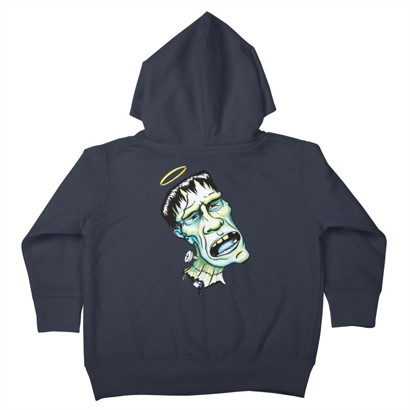 Saint Frank Kids Toddler Zip-Up Hoody by SkullyFlower's Sweetly Creepy Tees