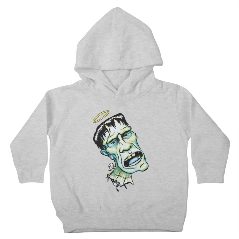 Saint Frank Kids Toddler Pullover Hoody by SkullyFlower's Sweetly Creepy Tees
