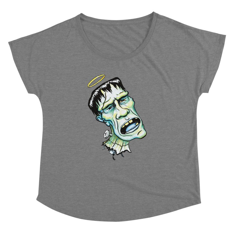 Saint Frank Women's Dolman by SkullyFlower's Sweetly Creepy Tees