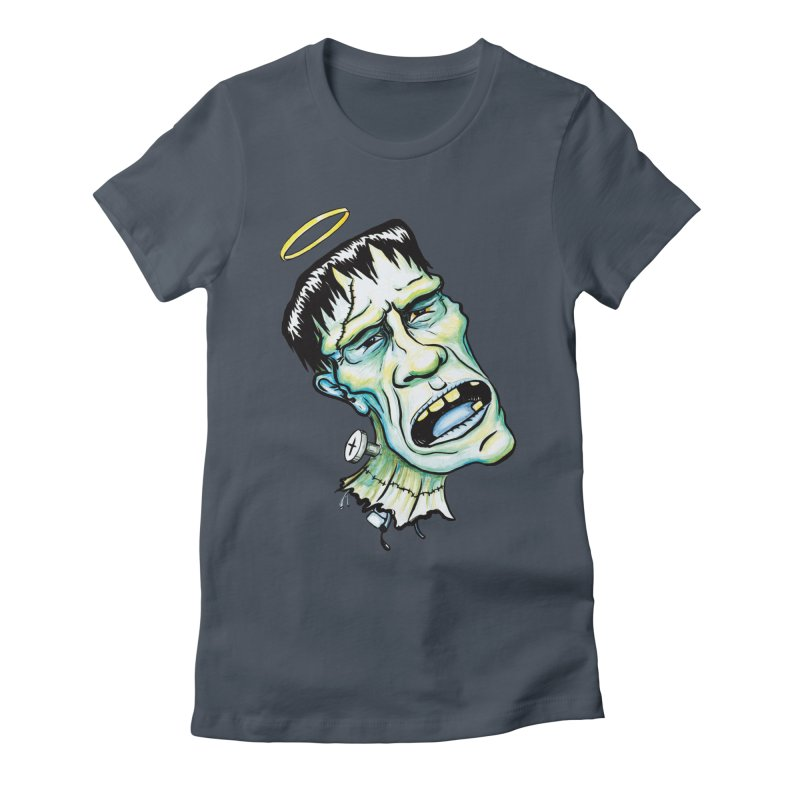 Saint Frank Women's T-Shirt by SkullyFlower's Sweetly Creepy Tees