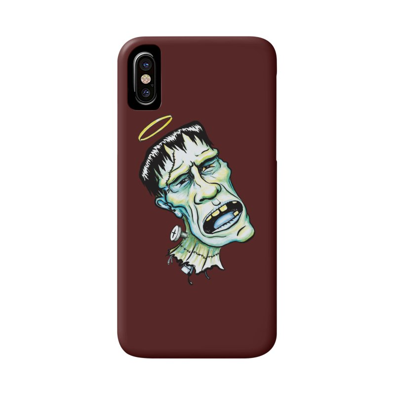 Saint Frank Accessories Phone Case by SkullyFlower's Sweetly Creepy Tees