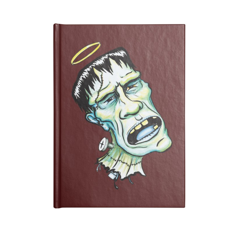 Saint Frank Accessories Notebook by SkullyFlower's Sweetly Creepy Tees