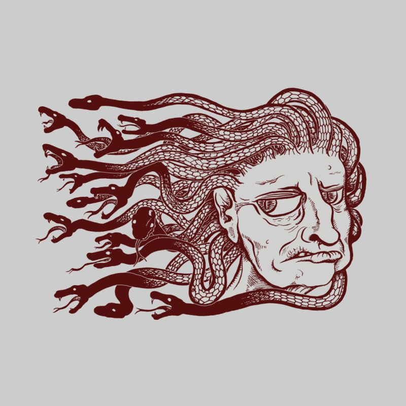 Gorgon None  by SkullyFlower's Sweetly Creepy Tees