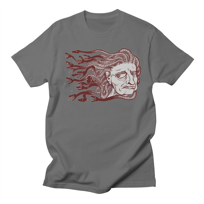 Gorgon Men's T-Shirt by SkullyFlower's Sweetly Creepy Tees