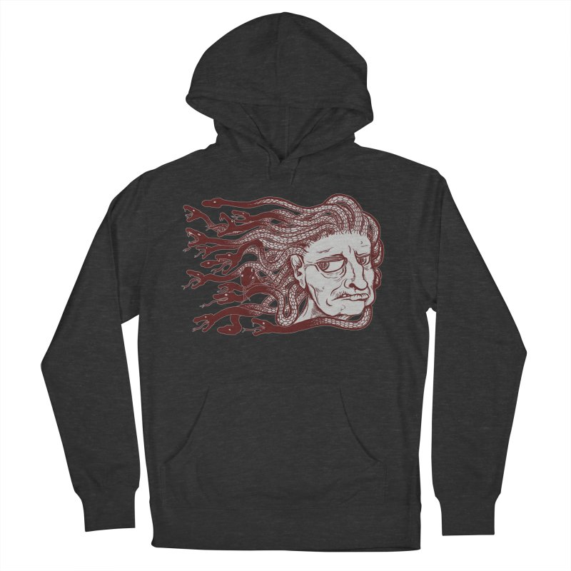 Gorgon Women's Pullover Hoody by SkullyFlower's Sweetly Creepy Tees