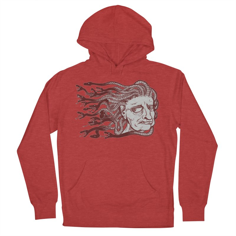Gorgon Men's Pullover Hoody by SkullyFlower's Sweetly Creepy Tees