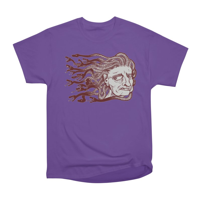 Gorgon Men's Heavyweight T-Shirt by SkullyFlower's Sweetly Creepy Tees