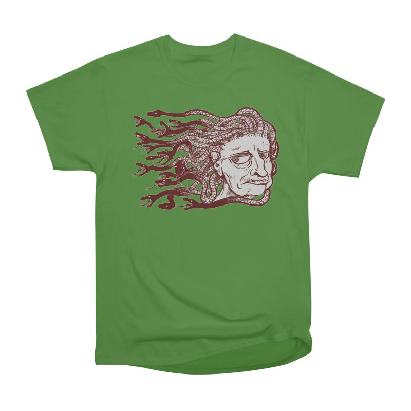 Gorgon Men's Classic T-Shirt by SkullyFlower's Sweetly Creepy Tees