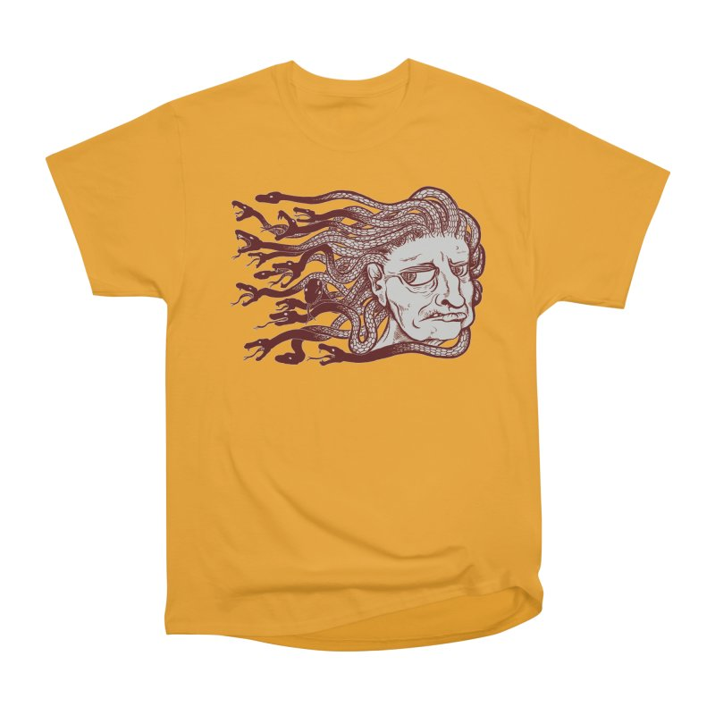 Gorgon Women's Heavyweight Unisex T-Shirt by SkullyFlower's Sweetly Creepy Tees