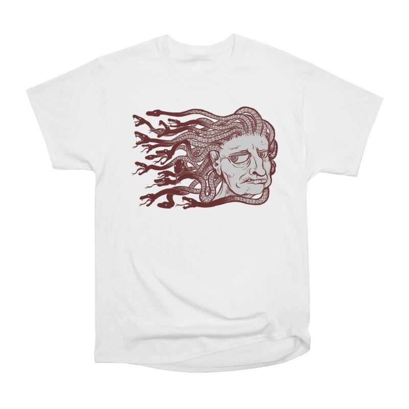 Gorgon Women's Heavyweight Unisex T-Shirt by SkullyFlower's Sweetly Creepy Tees