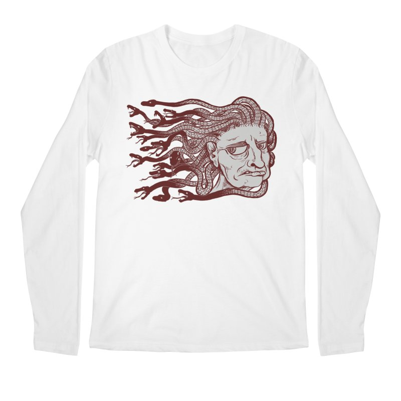 Gorgon Men's Longsleeve T-Shirt by SkullyFlower's Sweetly Creepy Tees
