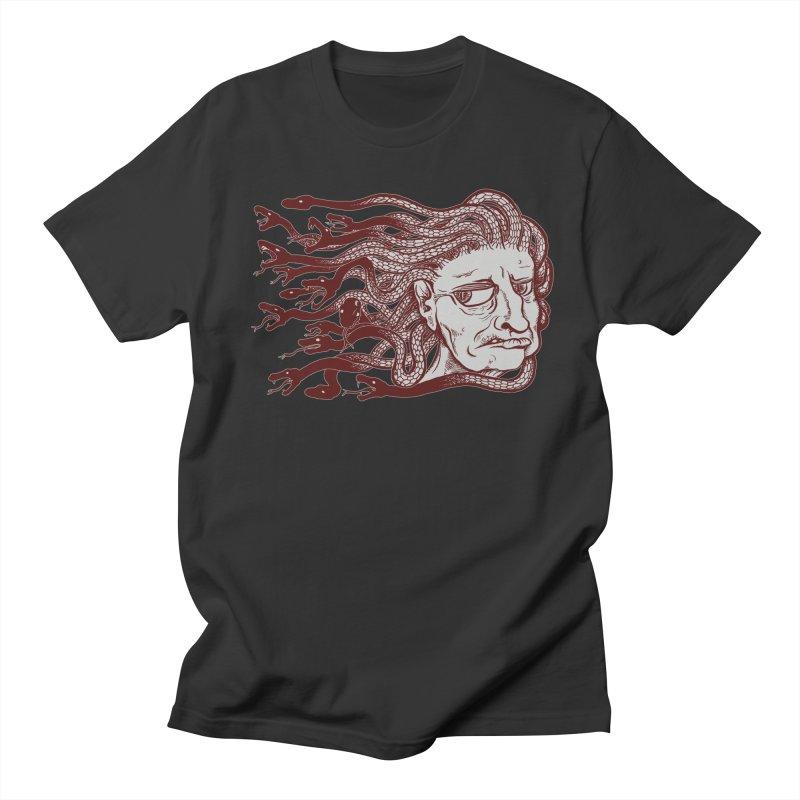 Gorgon Women's Regular Unisex T-Shirt by SkullyFlower's Sweetly Creepy Tees