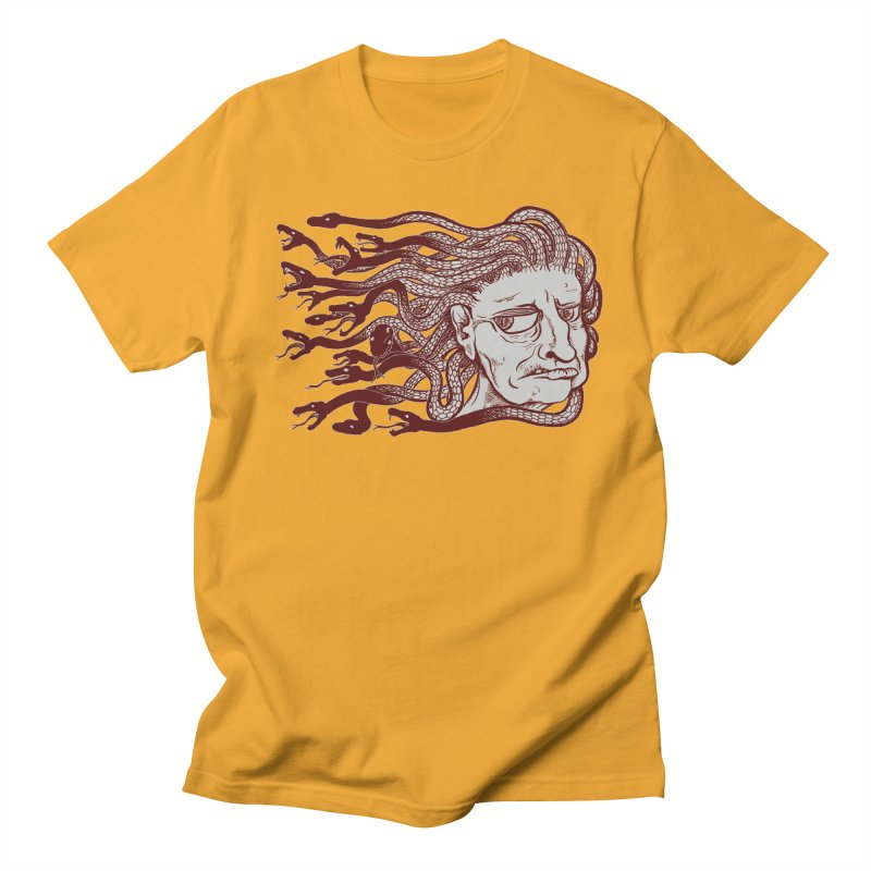 Gorgon Women's Unisex T-Shirt by SkullyFlower's Sweetly Creepy Tees