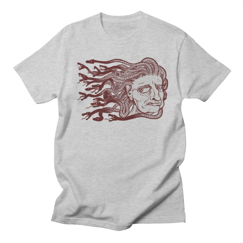 Gorgon Men's T-shirt by SkullyFlower's Sweetly Creepy Tees