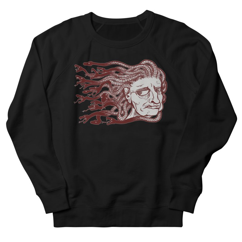 Gorgon Men's Sweatshirt by SkullyFlower's Sweetly Creepy Tees