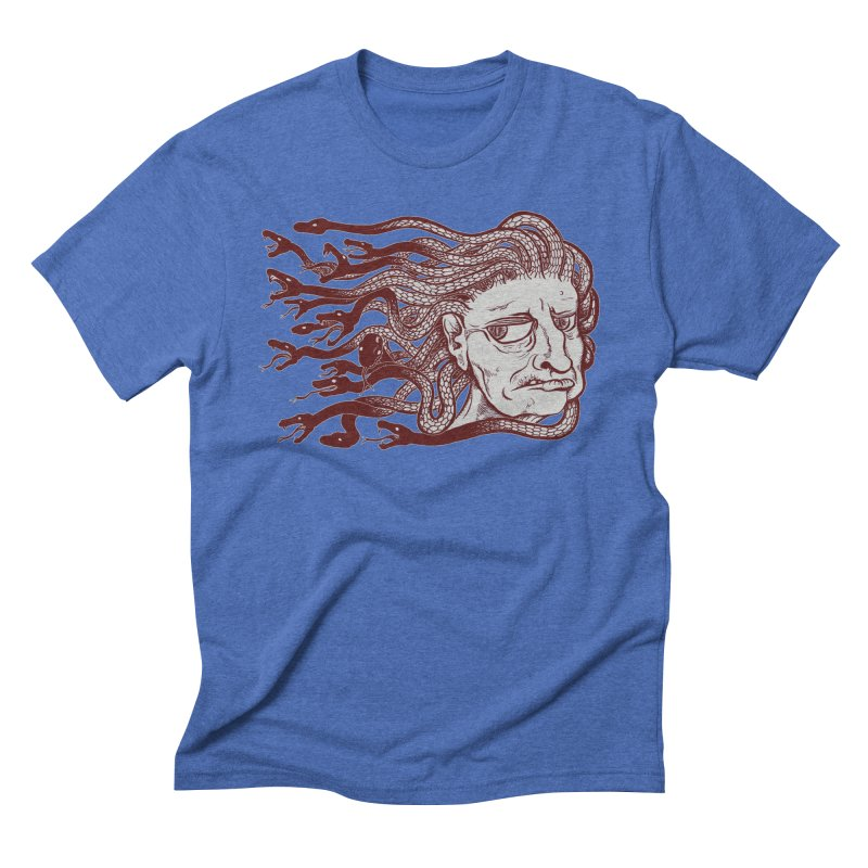 Gorgon Men's Triblend T-Shirt by SkullyFlower's Sweetly Creepy Tees