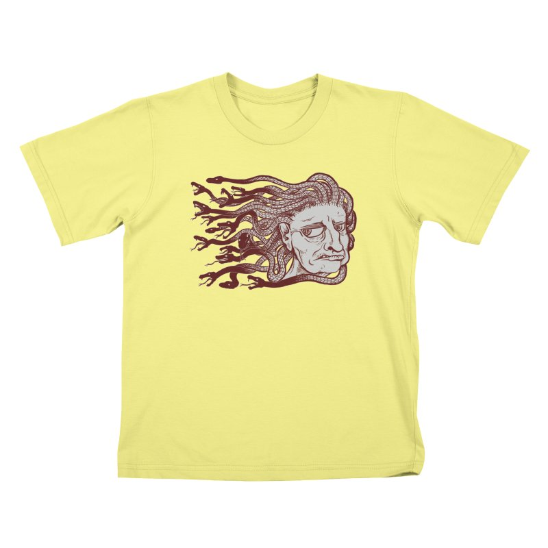Gorgon Kids T-shirt by SkullyFlower's Sweetly Creepy Tees