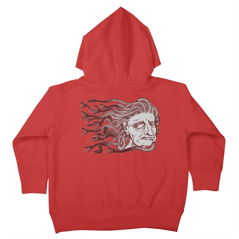 Gorgon Kids Toddler Zip-Up Hoody by SkullyFlower's Sweetly Creepy Tees