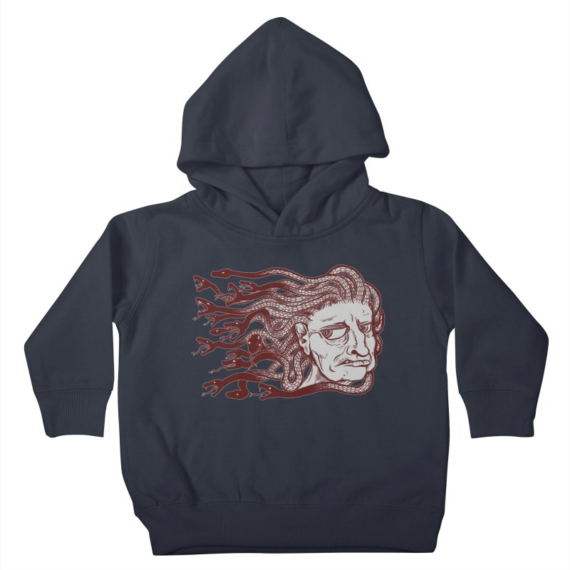 Gorgon Kids Toddler Pullover Hoody by SkullyFlower's Sweetly Creepy Tees