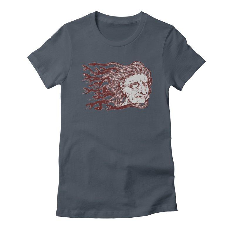 Gorgon Women's T-Shirt by SkullyFlower's Sweetly Creepy Tees
