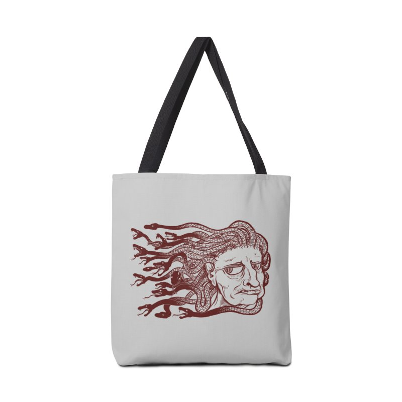 Gorgon Accessories Bag by SkullyFlower's Sweetly Creepy Tees