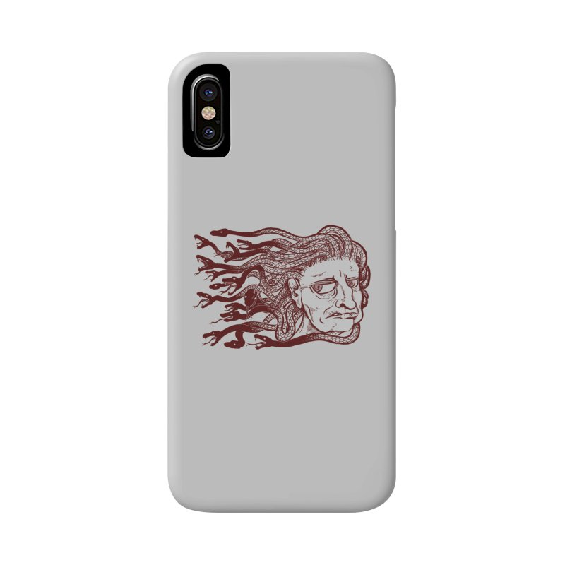 Gorgon Accessories Phone Case by SkullyFlower's Sweetly Creepy Tees