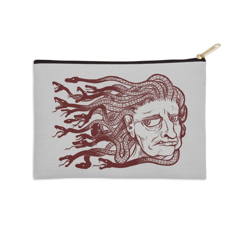 Gorgon Accessories Zip Pouch by SkullyFlower's Sweetly Creepy Tees