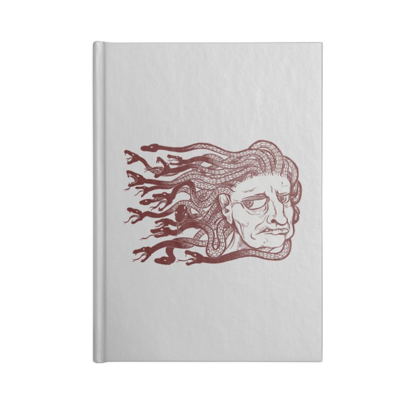 Gorgon Accessories Notebook by SkullyFlower's Sweetly Creepy Tees